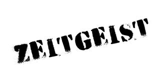 Zeitgeist rubber stamp Royalty Free Stock Photography