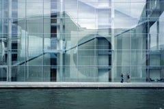 Zeitgenössische Architektur lizenzfreies stockbild