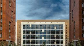 Zeitgenössische Architekturart des Barcelonas, Spanien Stockfoto