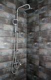 Zeitgenössische Dusche Stockfotografie