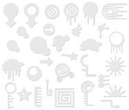 Zeitgenössische Elemente Lizenzfreies Stockfoto