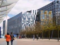 Zeitgenössische Gebäude Londons, Greenwich Lizenzfreie Stockfotografie