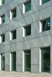Zeitgenössische Gebäudewand Lizenzfreie Stockfotos