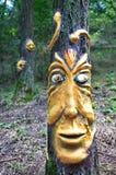 Zeitgenössische Kunst auf Ozora-Festival, Stockfoto