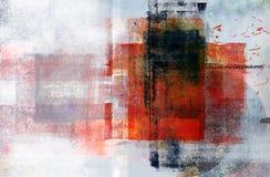 Zeitgenössische Multimedia-abstrakter Hintergrund stockbild