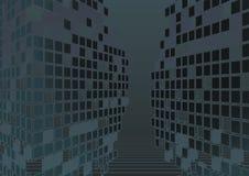 Zeitgenössischer abstrakter Hintergrund Lizenzfreie Stockfotos