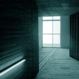 Zeitgenössischer Innenraum Stockfoto