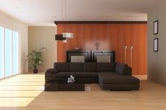 Zeitgenössischer Sitzenraum Stockbilder
