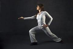 Zeitgenössischer Tänzer Stockfotos