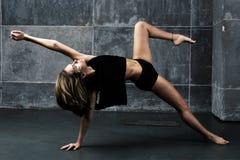 Zeitgenössischer Tänzer Stockfoto