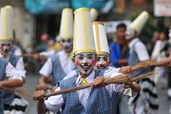 Zeitgenössischer Tanz während Art Parades Stockbild