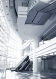 Zeitgenössischer Unternehmensgebäude-Innenraum (Duotone) Lizenzfreie Stockfotos