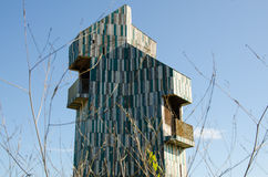 Zeitgenössisches Gebäude Lizenzfreie Stockbilder