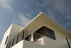 Zeitgenössisches Haus stockfoto