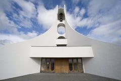 Zeitgenössisches Kirchegebäude Stockbild