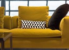 Zeitgenössisches Sofa Stockbild