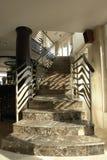 Zeitgenössisches Treppenhaus Lizenzfreies Stockfoto