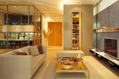 Zeitgenössisches Wohnzimmer