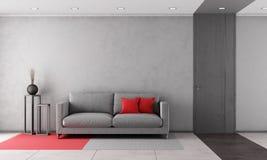 Zeitgenössisches Wohnzimmer Stockfotos