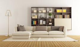 Zeitgenössisches Wohnzimmer Lizenzfreie Stockbilder