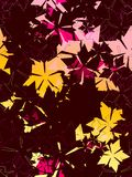Zeitgenössische Blumenmuster Stockbild