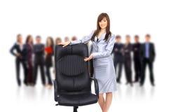 Zeitgenössischer Bürostuhl Lizenzfreies Stockbild