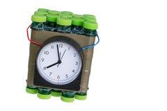 Zeitgesteuerte Bombe Lizenzfreies Stockfoto
