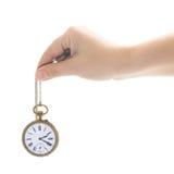 Zeitkonzept mit antiker Uhr Lizenzfreie Stockfotos