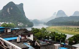 Zeitloses Yangshuo Stockfoto