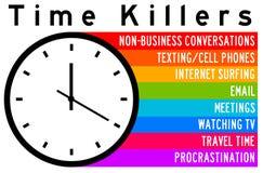 Zeitmörder lizenzfreie abbildung