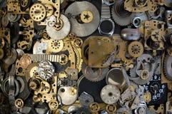 Zeitmaschinenhintergrund Stockbilder