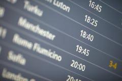 Zeitplan Lizenzfreie Stockfotografie