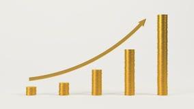 Zeitplan, zum von Profiten zu erhöhen Stockbild
