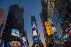 Zeitquadrat, New York City Lizenzfreie Stockbilder