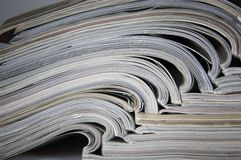 Zeitschriften lizenzfreie stockfotografie