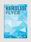 Zeitschriften-, Flieger-, Broschüren- und Abdeckungsplan entwerfen Stockfoto