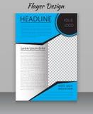 Zeitschriften-, Flieger-, Broschüren- und Abdeckungsplandesign drucken Schablone Stockfotos