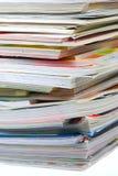 Zeitschriften-Stapel lizenzfreies stockbild