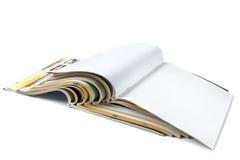 Zeitschriften trennten lizenzfreies stockfoto