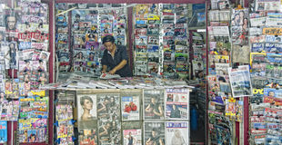 Zeitschriften-Verkäufer Lizenzfreies Stockbild