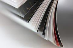 Zeitschriftenhintergrund Stockbild