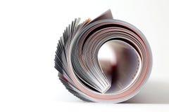 Zeitschriftenrolle lizenzfreie stockfotos