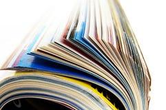 Zeitschriftenrolle Stockfotografie