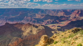 Zeitspanne der Landschaft in Grand Canyon USA stock footage