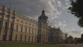 Zeitspanne des Charlottenburg-Palastes Berlin stock footage