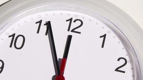 Zeitspanne einer Uhr stock footage