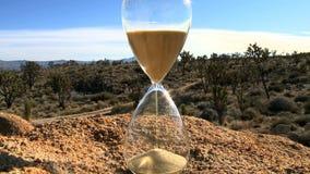 Zeitspanne eines Stunden-Glases - Klipp 1 stock video footage
