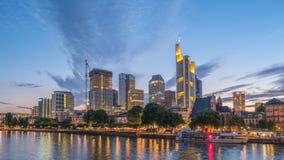 Zeitspanne Frankfurts Deutschland