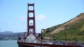 Zeitspanne Golden gate bridge San Francisco stock video