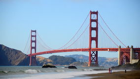 Zeitspanne Golden gate bridge San Francisco stock video footage